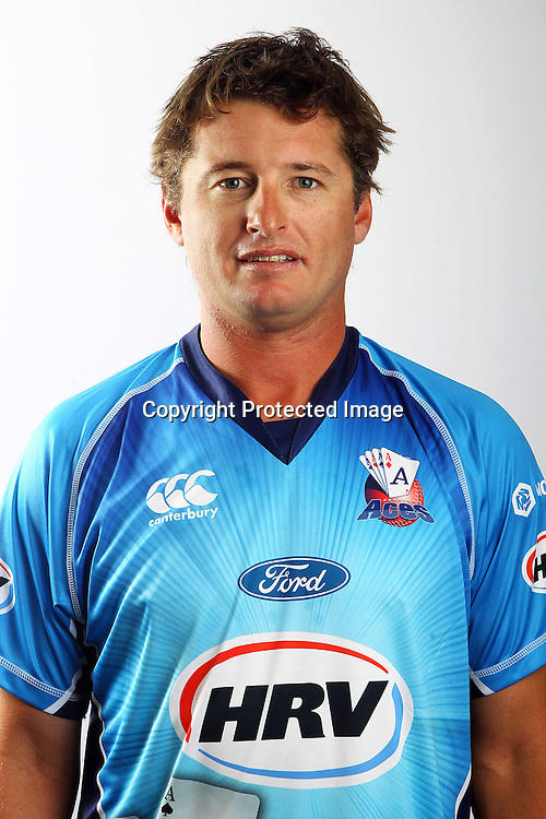 Bruce Martin, Auckland Aces HRV domestic cricket headshots. Eden Park, Auckland. 23 November 2012. Photo: William Booth/photosport.co.nz