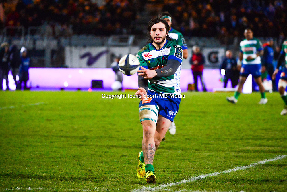 Enrico BACCHIN  - 18.01.2015 - Racing Metro 92 / Trevise - European Champions Cup<br /> Photo : Dave Winter / Icon Sport