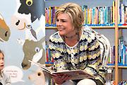 Het Nationale Voorleesontbijt Prinses Laurentien op de Oecumenische Basisschool De Ladder<br /> <br /> The National Reading breakfast Princess Laurentien on the Ecumenical Elementary Ladder