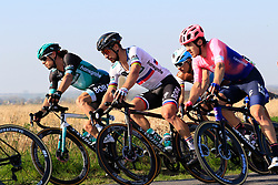 The main group of favourites including Daniel Oss (ITA) and Peter Sagan (SVK) Bora-Hansgrohe on Driesstraat during the 2019 E3 Harelbeke Binck Bank Classic 2019 running 203.9km from Harelbeke to Harelbeke, Belgium. 29th March 2019.<br /> Picture: Eoin Clarke | Cyclefile<br /> <br /> All photos usage must carry mandatory copyright credit (© Cyclefile | Eoin Clarke)