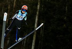 Yuki Ito of Japan soaring through the air during 1st Round at Day 1 of World Cup Ski Jumping Ladies Ljubno 2019, on February 8, 2019 in Ljubno ob Savinji, Slovenia. Photo by Matic Ritonja / Sportida