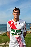 Alexandre Cuvillier - 09.09.2015- Photo Officielle de Brest - Ligue 2<br /> Photo : Philippe Le Brech / Icon Sport