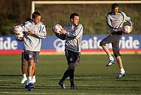 Photo: Paul Thomas.<br /> England training session. 05/02/2007.<br /> <br /> John Terry during England training.