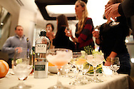 Oxley Gin Tasting at Sable Kitchen and Tap on October 28, 2010 in Chicago. (For Oxley)