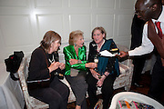 SERENA CONNELL; ROBIN DALTON; VISCOUNTESS OF FINDHORN, Book launch party for the paperback of Nicky Haslam's book 'Sheer Opulence', at The Westbury Hotel. London. 21 April 2010