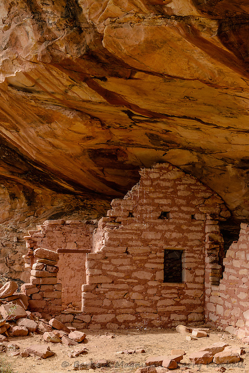 Fish Mouth Cave ruins; Comb Ridge, Cedar Mesa, UT