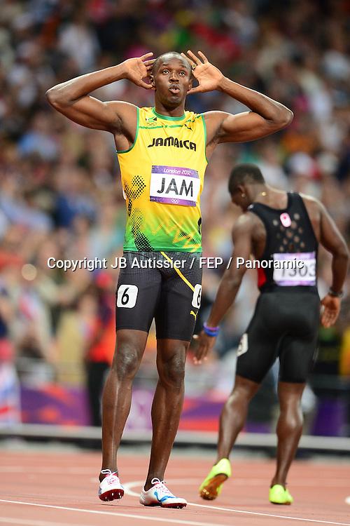Usain Bolt (jam) - finale relais 4x100m hommes