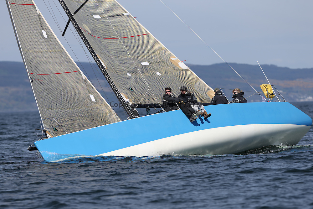 The Clyde Cruising Club's Scottish Series held on Loch Fyne by Tarbert. Day 2 racing in a perfect southerly<br /> <br /> GBR1498L ,Enigma ,Seona Buchanan ,Oban SC ,Enigma 34