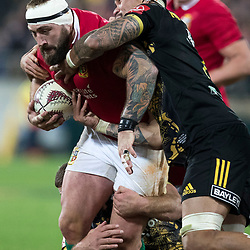 Joe Marler during game 8 of the British and Irish Lions 2017 Tour of New Zealand,The match between  Hurricanes and British and Irish Lions, Westpac Stadium, Wellington, Tuesday 27th June 2017<br /> (Photo by Kevin Booth Steve Haag Sports)<br /> <br /> Images for social media must have consent from Steve Haag