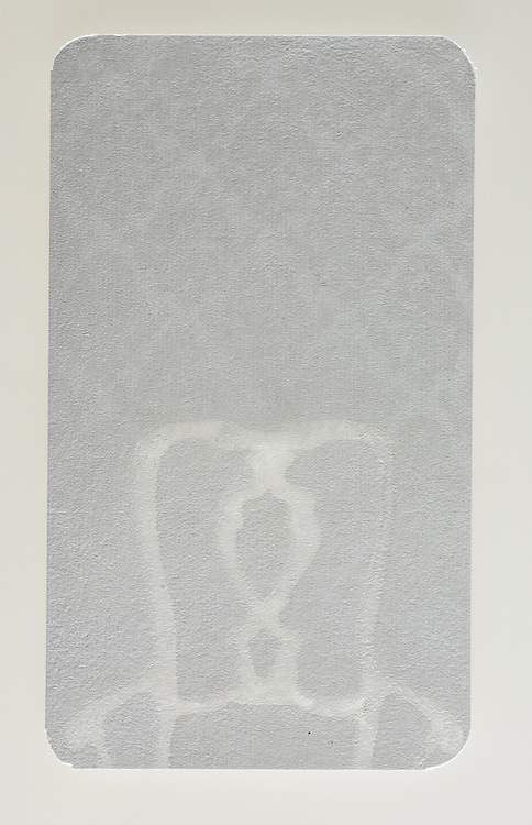 Sample from Negative Space in Handmade Paper: Picturing the Void. The edition is limited to 150.
