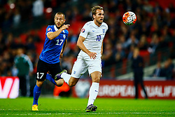 Harry Kane of England in action - Mandatory byline: Jason Brown/JMP - 07966 386802 - 09/10/2015- FOOTBALL - Wembley Stadium - London, England - England v Estonia - Euro 2016 Qualifying - Group E
