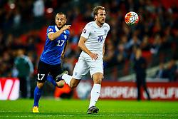 Harry Kane of England in action - Mandatory byline: Jason Brown/JMP - 07966 386802 - 09/10/2015- FOOTBALL - Wembley Stadium - London, England - England v Estonia - Euro 2016 Qualifying - Group E