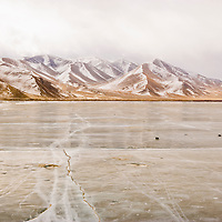 Frozen Lake, Karakuri, Tashkurgan County, Xinjiang, China