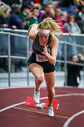 ECAC/IC4A Track and Field Indoor Championships<br /> 400 meters, Towson, Liz Reid