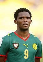 Fotball<br /> Afrika mesterskapet 2008<br /> Foto: DPPI/Digitalsport<br /> NORWAY ONLY<br /> <br /> FOOTBALL - AFRICAN CUP OF NATIONS 2008 - QUALIFYING ROUND - GROUP C - 22/01/2008 - EGYPT v CAMEROON - SAMUEL ETOO (CAM)<br /> <br /> Egypt v Kamerun