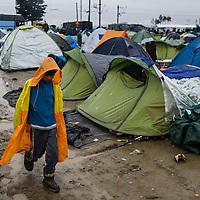 13 Idomeni Refugee Camp