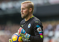 Football - 2016 / 2017 Premier League - Tottenham Hotspur vs. Leicester City<br /> <br /> Kasper Schmeichel of Leicester City at White Hart Lane.<br /> <br /> COLORSPORT/DANIEL BEARHAM
