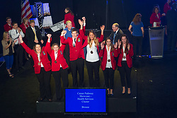 The 2017 SkillsUSA National Leadership and Skills Conference Competition Medalists were announced Friday, June 23, 2017 at Freedom Hall in Louisville. <br /> <br /> Career Pathways - Health Services<br /> <br /> 	Team AE (consisting of NHI TRIEU, MAIDA CHAVEZ, KARINA ARMIJO)<br />   High School	 Dubiski Career High School<br />   Gold	 Grand Prairie, TX<br /> Career Pathways - Health Services	Team AC (consisting of Savana Nossa, Chey Liss, Erica Vargas)<br />   High School	 EHOVE Career Center<br />   Silver	 Milan, OH<br /> Career Pathways - Health Services	Team AH (consisting of Caleb Liles, Taylor Adwell, Brianna Davenport)<br />   High School	 Northwest Tech School<br />   Bronze	 Maryville, MO<br /> Career Pathways - Health Services	Team AB (consisting of Whittney Zimmerman, Kayla Stanley, Stephanie Kelly)<br />   College	 Tennessee College of Applied Tech-Dickson<br />   Gold	 Dickson, TN<br /> Career Pathways - Health Services	Team AA (consisting of Arianna Burningham, Paige Burnham, Sawyer Guy)<br />   College	 Mountainland Applied Technology College<br />   Silver	 American Fork, UT<br /> Career Pathways - Health Services	Team AD (consisting of Megan Campbell, KRISTEN WILLIAMS, KELSIE JACOBS)<br />   College	 Northwest Florida State College<br />   Bronze	 Niceville, FL