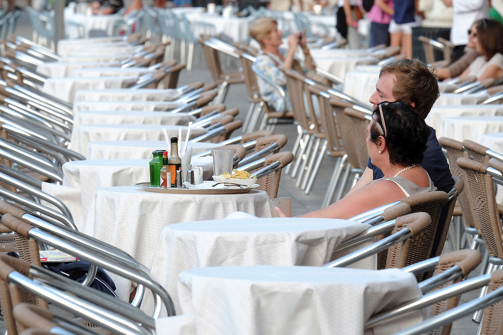 Venice August 20 A group of Italian tourists were horrified to be charged the equivalent of £85 for four espresso coffees laced with liqueurs in the very central Saint Mark's Square in  Venice.