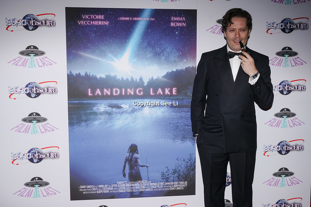 London, England, UK. 14th September 2017.Cast Cesare P. Libardi attend the Landing Lake Film Premiere at Empire Haymarket,London, UK.