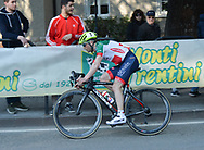 Ciclismo 109^ Giro della Bolghera under 23, Vince il campione Italiano Milani Gianluca, secondo Ippolito Stefano e Visintainer Lorenzo, Trento 25 Marzo 2018 © foto Daniele Mosna