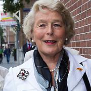NLD/Amsterdam/20130907 - Modeshow najaar Mart Visser 2013, Martine Loon van Labouchere