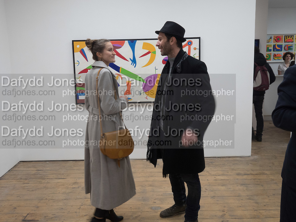 ALEXANDRA KARPOWICZ; PAUL CUMMINGS, Piers Secunda, and Carlos Puente launch event previewing their exhibitions, Shadows of Spain and Circling Skies. Olympus Art Bermondsey Project Space, Bermondsey St. London. 1 March 2016