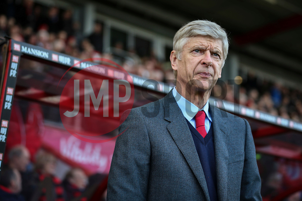 Arsenal Manager Arsene Wenger - Mandatory by-line: Jason Brown/JMP - Mobile 07966 386802 07/02/2016 - SPORT - FOOTBALL - Bournemouth, Vitality Stadium - AFC Bournemouth v Arsenal - Barclays Premier League