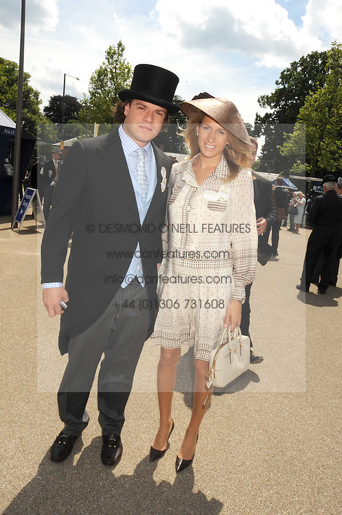 MR &amp; MRS TOM MAGNIER at the ist day of the 2008 Royal Ascot racing festival on 17th June 2008.<br />