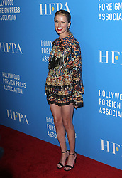 Hollywood Foreign Press Association's Grants Banquet - Arrivals. 09 Aug 2018 Pictured: Amber Heard. Photo credit: Jaxon / MEGA TheMegaAgency.com +1 888 505 6342