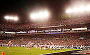 Clemson and Alabama prepare for a play in the second half at Raymond James Stadium in Tampa, Monday, January 9, 2017.