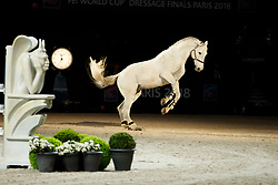 Diniz Luciana, POR, Winningmood<br /> LONGINES FEI World Cup™ Finals Paris 2018<br /> © Hippo Foto - Dirk Caremans<br /> 14/04/2018