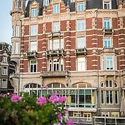 NLD/Amsterdam/20161031 - Hotel L'Europe Amsterdam buitenzijde,