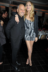 LILY DONALDSON and Sam McKnight at a dinner hosted by Alexandra Shulman editor of British Vogue in association with Net-A-Porter.com to celebrate 25 years of London Fashion Week and Nick Knight held at Le Caprice, Arlington Street, London on 21st September 2009.