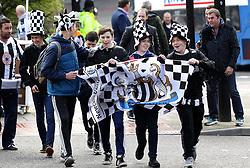 Fans arrive at St James Park, home of Newcastle United - Mandatory byline: Robbie Stephenson/JMP - 20/03/2016 - FOOTBALL - ST James Park - Newcastle, England - Newcastle United v Sunderland - Barclays Premier League