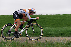 Yara Kastelijn (Rabo Liv) at Omloop van Borsele Time Trial 2016. A 19.9 km individual time trial starting and finishing in 's-Heerenhoek, Netherlands on 22nd April 2016.