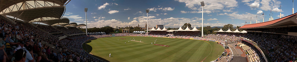 The second Ashes Test Match between Australia and England at the Adelaide Oval. Photo: Graham Morris (Tel: +44(0)20 8969 4192 Email: sales@cricketpix.com) 3/12/10