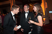 ALEX HARRISON; SHONA HUGHES; DARYL BURNABY, The Secret Winter Gala in aid of Save the Children and sponsored by Bulgari. Guildhall. London. 26 November 2013