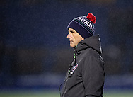 Phil Blake defence coach of Leicester Tigers<br /> <br /> Photographer Simon King/Replay Images<br /> <br /> European Rugby Challenge Cup Round 2 - Cardiff Blues v Leicester Tigers - Saturday 23rd November 2019 - Cardiff Arms Park - Cardiff<br /> <br /> World Copyright © Replay Images . All rights reserved. info@replayimages.co.uk - http://replayimages.co.uk