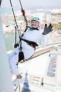 Doris Long's abseil
