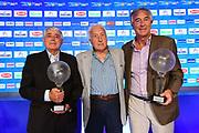 Massimo Cosmelli, Sandro Gamba, Enrico Gilardi<br /> Raduno Nazionale Italiana Maschile Senior<br /> Media Day - Sky <br /> Milano, 21/07/2017<br /> Foto Ciamillo-Castoria/ M.Ceretti