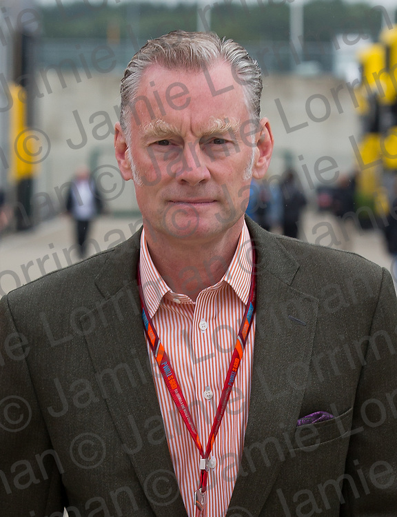 The 2017 Formula 1 Rolex British Grand Prix at Silverstone Circuit, Northamptonshire.<br /> <br /> Pictured: Commercial head of Formula One Sean Bratches walks through the F1 paddock at Silverstone.<br /> <br /> Jamie Lorriman<br /> mail@jamielorriman.co.uk<br /> www.jamielorriman.co.uk<br /> +44 7718 900288