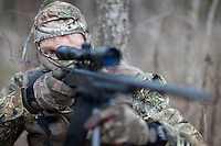 COYOTE HUNTER SHOOTING A H&R SINGLE SHOT RIFLE