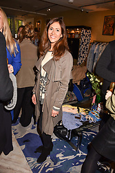 Zoe Stirling at the Seren London Launch Party held at Baar And Bass, 336 Kings Road, London England. 26 April 2017.