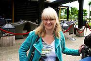 HIERDEN - In de Zwaluwhoeve is de Nederlandse primeur van de Mindspa. Met op de foto Karin Riethoven. FOTO LEVIN DEN BOER - PERSFOTO.NU