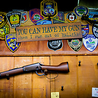 DAYTONA BEACH, FL -- Guns sit for sale at Buck's Gun Rack in Daytona Beach, Fla., on Friday, January 27, 2012. As the Florida Primary approaches, the voters along the I-4 corridor are becoming an increasingly more important path to securing a win.  (Chip Litherland for The New York Times)