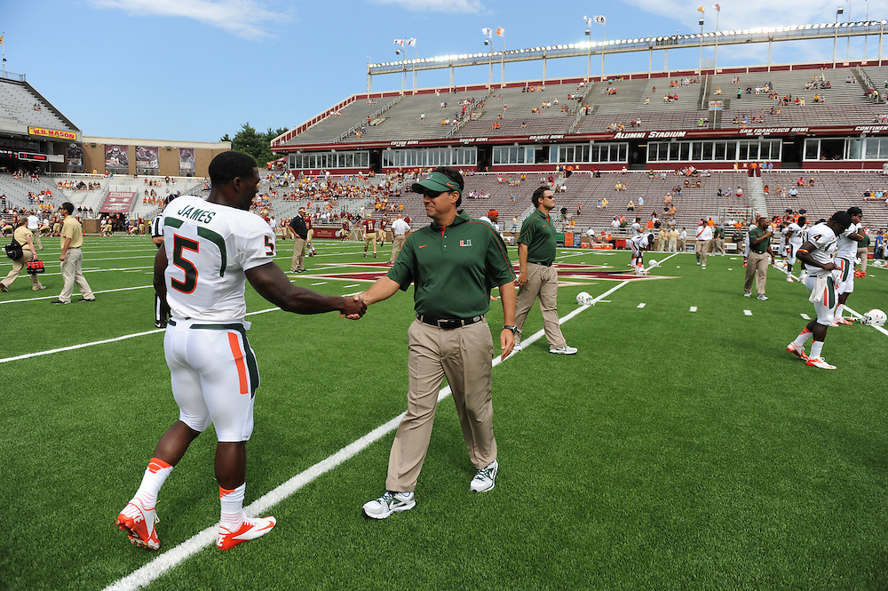 2012 Miami Hurricanes Football @ Boston College