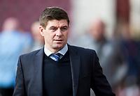Football - 2019 / 2020 William Hill Scottish Cup - Quarter-Final: Heart of Midlothian vs. Rangers<br /> <br /> Rangers manager Steven Gerrard arrives at Tynecastle, at Tynecastle Park, Edinburgh.<br /> <br /> COLORSPORT/BRUCE WHITE