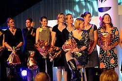 15-12-2008 ALGEMEEN: TOPSPORT GALA: AMSTERDAM<br /> Dames acht Roeien<br /> ©2008-WWW.FOTOHOOGENDOORN.NL