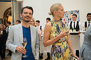 MATTHEW WILLIAMSON; SAVANNAH MILLER, Royal Academy Summer exhibition party. Piccadilly. 7 June 2016